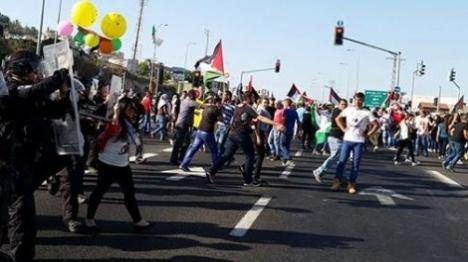 שוב חגיגות שחרור למחבל באום אל פחם