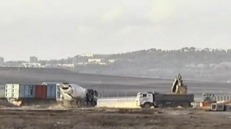 הקמת השכונה בעפולה (צילום מסך ערוץ 10)