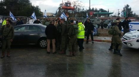 פיגוע דקירה בגוש עציון: פצוע קל-בינוני