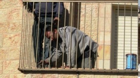 הגנן הערבי וחברו השיפוצניק שיתפו פעולה...