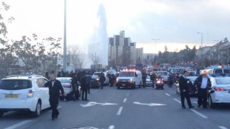 אחד-עשר פצועים בפיגוע דריסה בירושלים