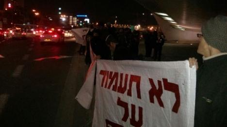 הפגנות נגד העינויים במוקדים שונים