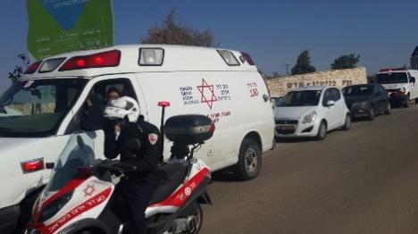 בוקר של טרור: דריסה בבנימין, דקירה בשומרון