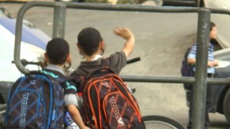 חיפה: טרור כנגד תלמידי בית ספר