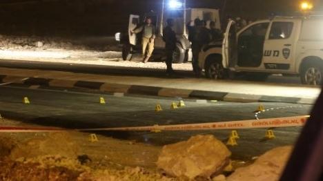 פיגוע ירי מרכב חולף בעציון