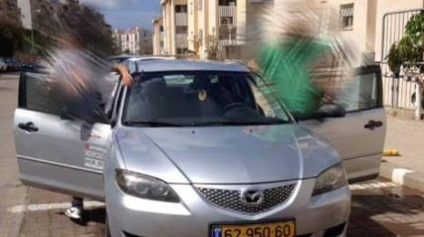 """שוד רכב בחיפה: """"לא בעותניאל ולא ביצהר"""""""