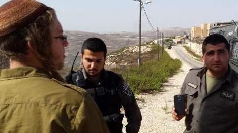 """החייל אריאל זילבר קורא לשוטרי מג""""ב לסרב פקודה (הקול היהודי)"""