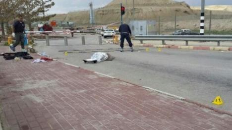 גופת הערבי במעבר אלנבי (דוברות רשת)