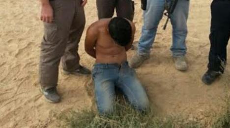 ערבי חמוש חדר מרצועת עזה