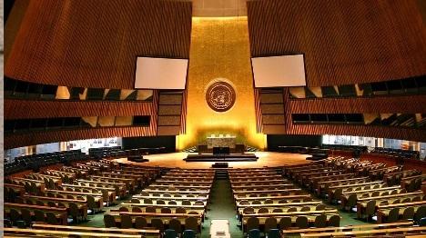 """מליאת האו""""ם (Patrick Gruban פורסם במקור ב-Flickr)"""