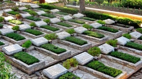 בית קברות צבאי. ארכיון (תמר הירדני)