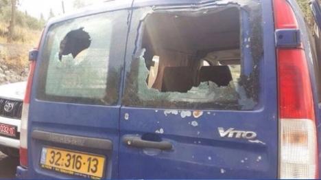 שתי יהודיות נפצעו מזריקות אבנים