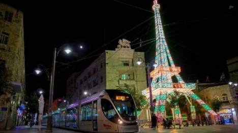 פסטיבל האור בירושלים (אוליביה פיטוסי)