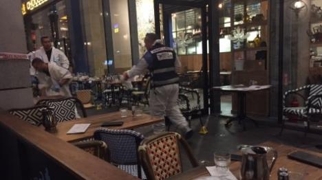 זירת הפיגוע (דוברות המשטרה)