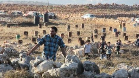 אש קודש: ערבים הציתו שריפות והתפרעו