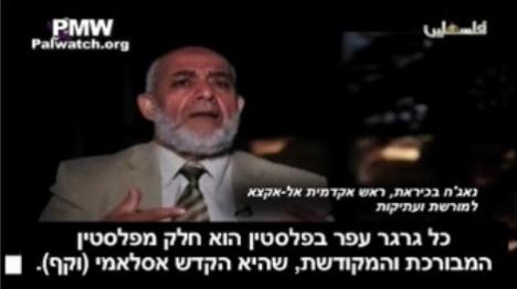 """מלחמת דת בחסות """"הרשות הפלסטינית""""?"""