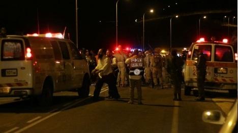 ניסיון פיגוע דריסה באזור ירושלים: מחבל חוסל