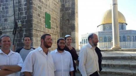 הבוקר: יהודים עלו להר הבית