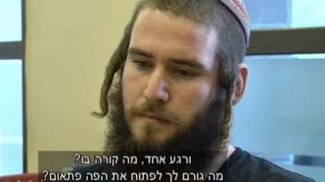 שנדורפי בראיון לרועי שרון (צילום מסך)
