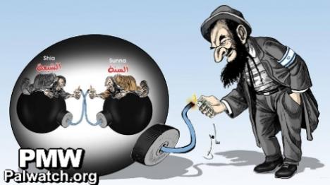 קריקטורה: ממשיכים את הנאצים?