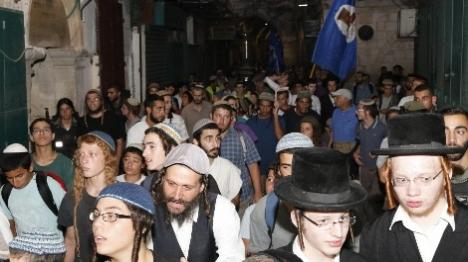 1,200 יהודים סובבו את שערי הר הבית