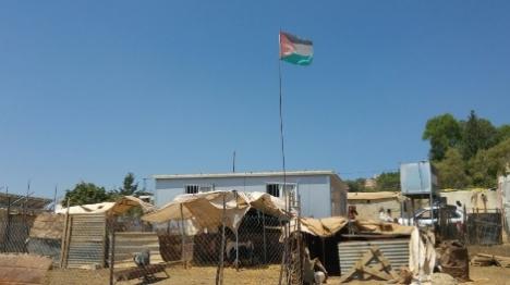 כוחות המנהל אוכפים בנייה באום ח'יר