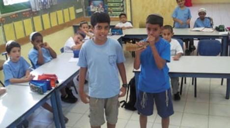 """ילמדו אצל מורה ערבי? תלמידים בחמ""""ד. אילוסטרציה (אתר גפן)"""