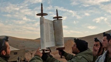 """חיילים דתיים. ארכיון דובר צה""""ל"""