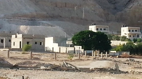 בניה ערבית בארמונות החשמונאים (מורשת יריחו)