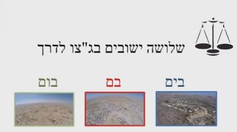 צפו: מה ההבדל בין ישובים יהודים לערביים?