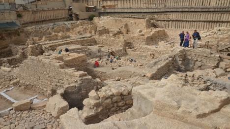 התגלתה קערת אבן מהתקופה החשמונאית