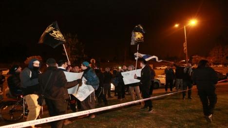 """עשרות הפגינו: """"דם יהודי אינו הפקר"""