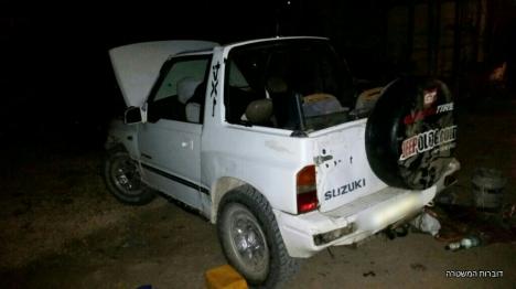 הרכב שנתפס (דוברות המשטרה)