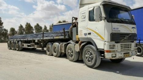 שוב: ישראל העבירה חומרי בנייה לעזה
