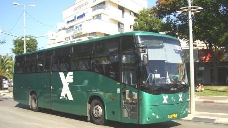 בקרית ארבע מתנגדים לנהגי אוטובוס ערבים