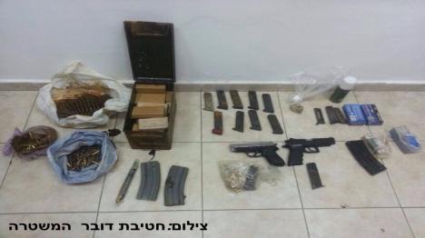 מאבטח ערבי החזיק נשק בלתי חוקי