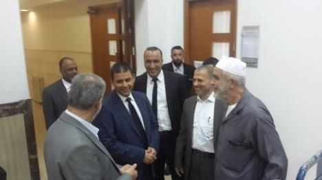 השיח ראאד סלאח שוחרר מהכלא