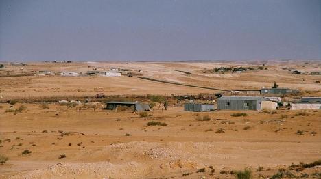 כך זה נראה כאשר הקרקע שייכת ליהודים