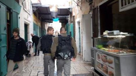 קטינים תקפו שוטרים בירושלים