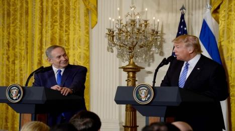 פגישת נתניהו עם נשיא ארצות-הברית