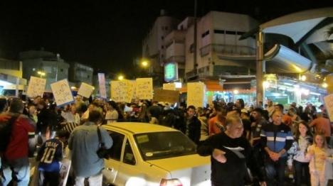 מסתנן תקף אישה מבוגרת בתל אביב