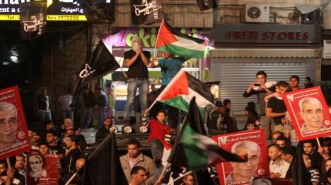 החגיגות לשחרור המחבל התקיימו בעיר לוד