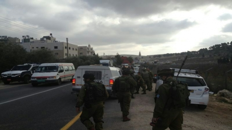 פיגוע ירי בשומרון, חיילים נפצעו בגוש עציון