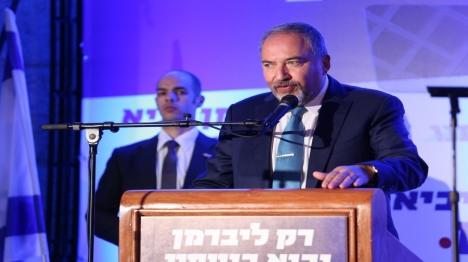 """""""ליברמן, במקום לצייץ - עצור הקמת מדינה פלסטינית"""""""