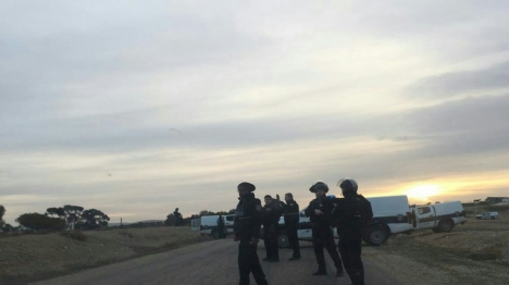 כוחות משטרה באום אל חיראן
