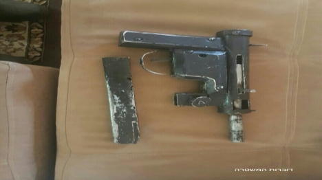 כלי נשק שנתפס (דוברות המשטרה)