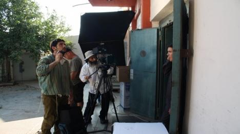 קולנוע יהודי. ארכיון (מתוך צילומי הסרט זוהר הרקיע)
