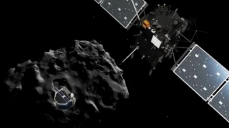 היסטוריה בחלל: גשושית בכוכב ה'שביט'
