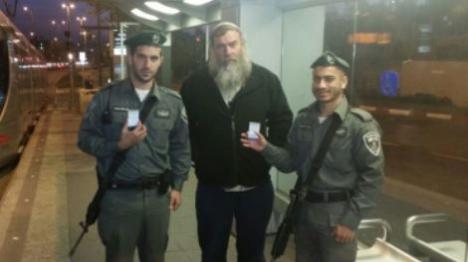 """""""פק""""ל משפטי"""" חולק לשוטרים בירושלים"""
