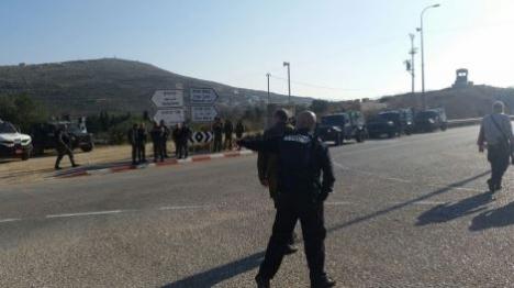 פיגוע ירי בצומת יצהר: תושבים הפגינו